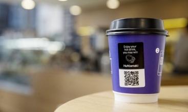 Huhtamaki unveils Adtone cup with digital content