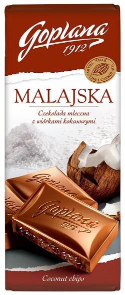 opakowanie czekolady Goplana