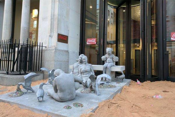 Greenpeace sculpture