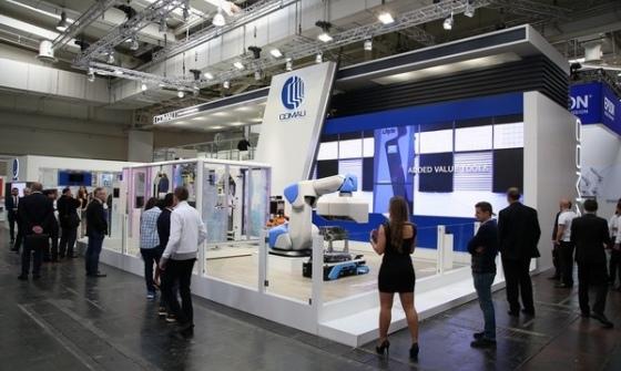 Automatyka firmy Comau na targach Hannover Messe