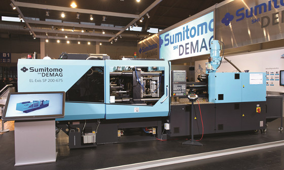 Nowa seria wtryskarek elektrycznych Sumitomo (SHI) Demag