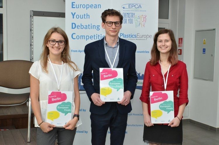 European Youth Debating Competition winners