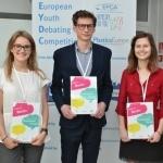 Znamy finalistów 4 debaty European Youth Debating Competition