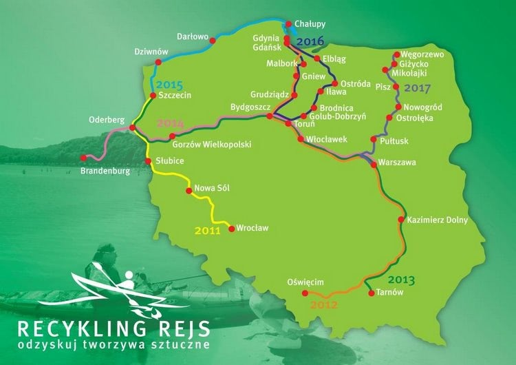 Mapa Recykling Rejs