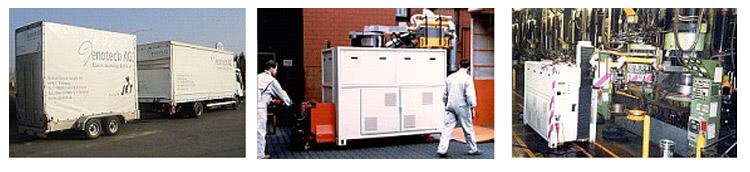 Czyszczenie form z wykorzystaniem lasera