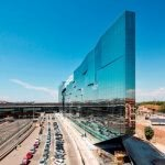 Solar control glass on the BNL-BNP Paribas HQ in Rome