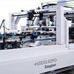 Składarko - sklejarka firmy Heidelberg do produkcji opakowań