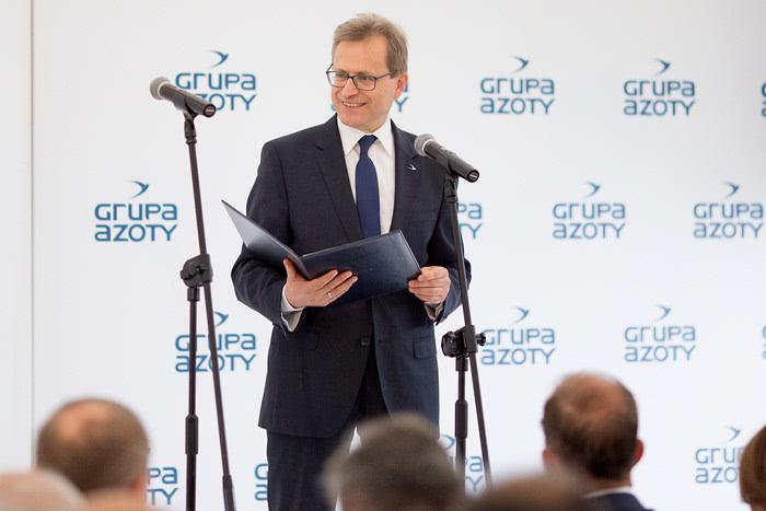 Wojciech Wardacki, prezes zarządu Grupy Azoty.