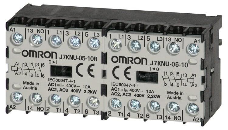 Nowy stycznik J7KNU firmy Omron