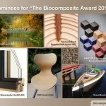 """Nominees for the Innovation Award """"Biocomposite of the Year 2017"""""""