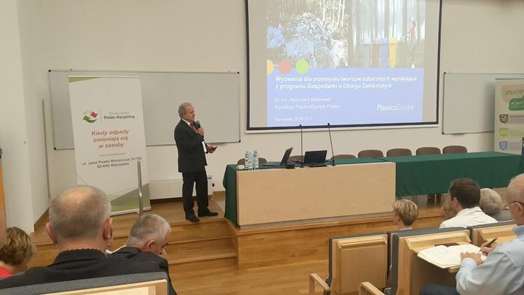 dr inż. Kazimierz Borkowski, Fundacja PlasticsEurope