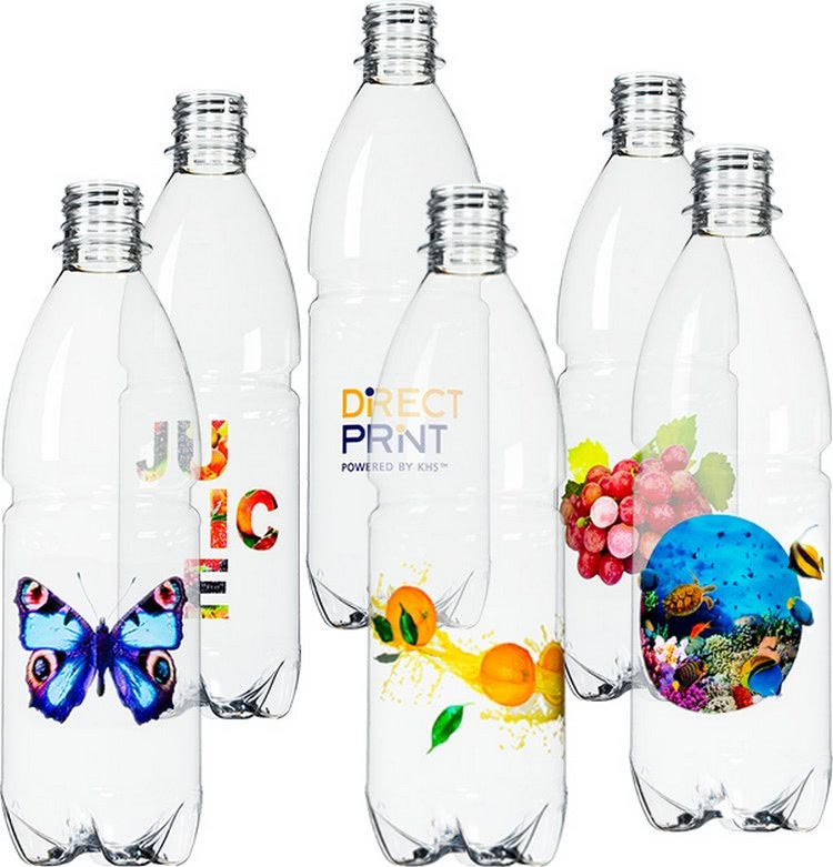 Bottles with Direct Print