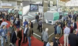 Arburg busy stand at Fakuma 2017