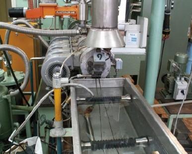 Technologia wytwarzania nowych kompozytów polimerowych z odpadów poliwęglanów, w tym z płyt kompaktowych.