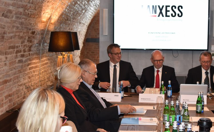 Konferencja prasowa LANXESS