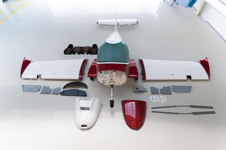 projekt samolotu