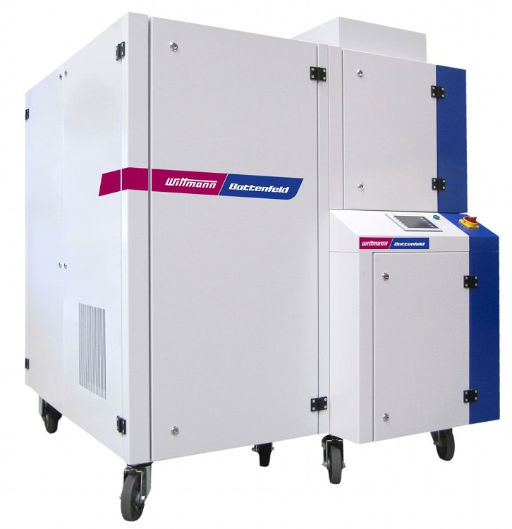 Compressor and nitrogen generator unit – developed and manufactured by WITTMANN BATTENFELD