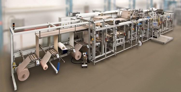 Kiefel ostomy bag machine