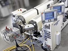New Kraussmaffei extrusion system