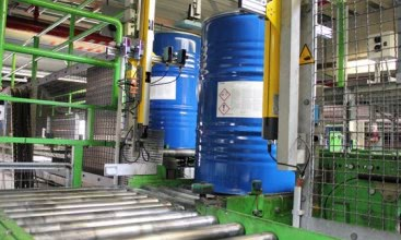 SmartWire-DT wiring system in plastics production facility