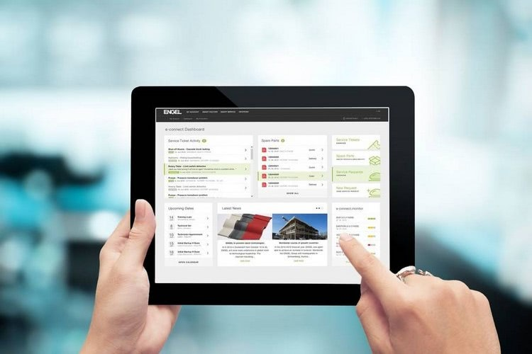 Engel e-connect customer portal