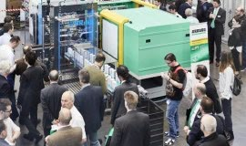 American premiere of injection molding large machine