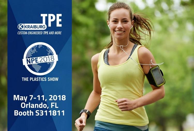 Kraiburg TPE at NPE 2018