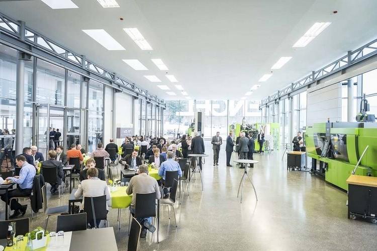 ENGEL's technology centre in Stuttgart