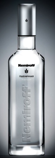 New bottle of Nemiroff