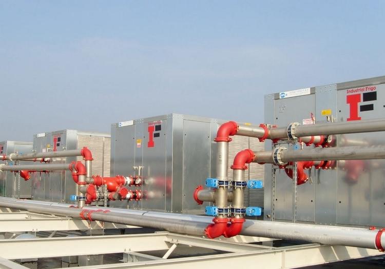 Rozwiązania Industrial Frigo