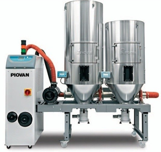 New Piovan's machine