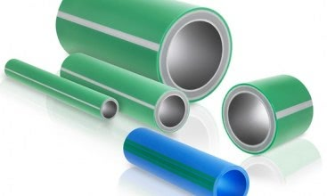 Special system for 5-layer PP-R pipe with fiberglass