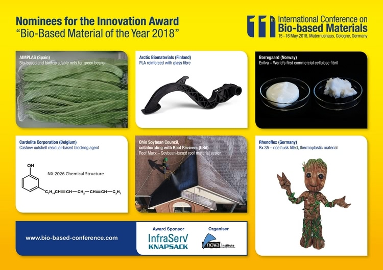 Biobased Material of the Year 2018