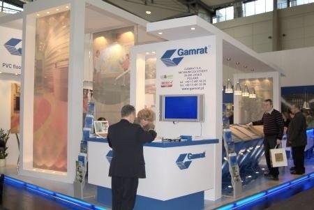 Firma Gamrat prezentuje się na targach
