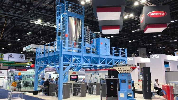 Moretto at NPE Bottle Zone