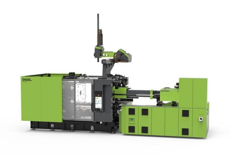 Für die Herstellung hochdekorierter Musterteile im weiterentwickelten foilmelt Prozess kommt während der Fakuma eine duo 1060/350 Spritzgießmaschine zum Einsatz.