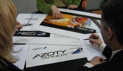 Prace nad nowym logotypem Azotów Tarnów zajmowały wiele czasu