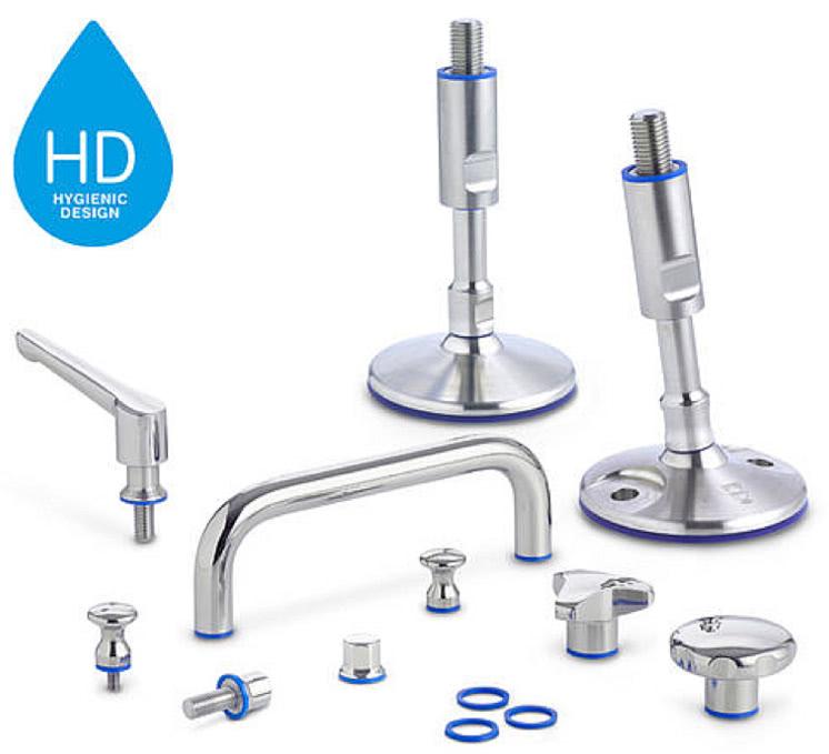 Elementy higieniczne z serii HD