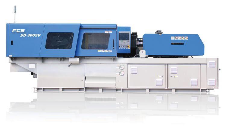 servohydraulic fcs injection moulding machine