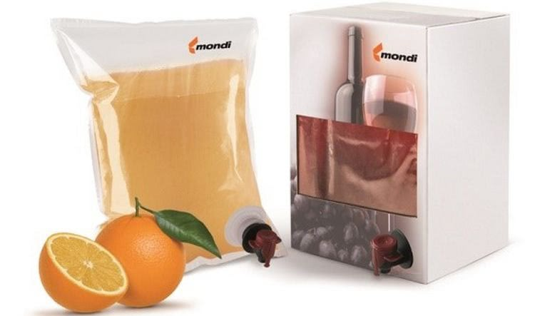 Mondi barrier films for bag-in-box applications