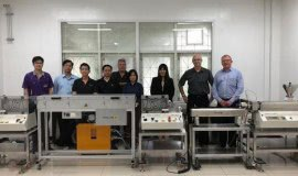 Collin delivers the very first of its kind extrusion line for medical yarn in Thailand