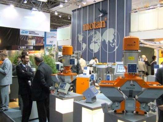firma Motan na targach K 2007 w Düsseldorfie