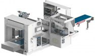 Wittmann packaging solution with minimum space requirements