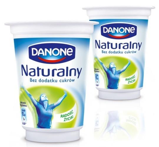 Danone Jogurt Naturalny w nowym opakowaniu