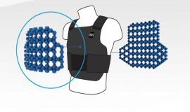 Breathable body protectors using a flexible thermoplastic elastomer compound from Kraiburg TPE