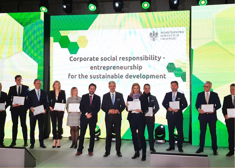 Firma BASF Polska wyróżniona na szczycie Klimatycznym COP24