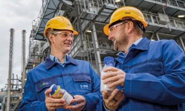 BASF erzeugt erstmals Produkte mit chemisch recycelten Kunststoffen
