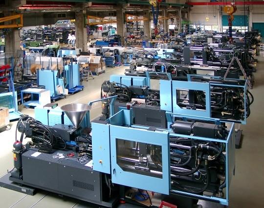 Hala produkcyjna koncernu Demag