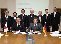 Signing the cooperation agreement in Munich
