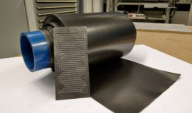 Flexible bipolar polymer plates open the way for compact batteries